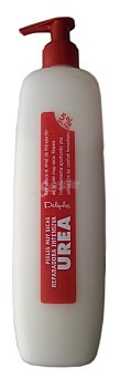 Deliplus Leche corporal hidratante reparadora con urea para pieles muy secas (dosificador) Botella de 400 cc