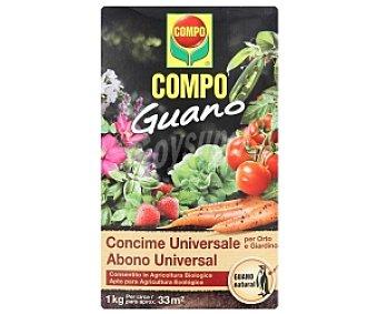 COMPO Guano Abono universal 1 Kilogramo