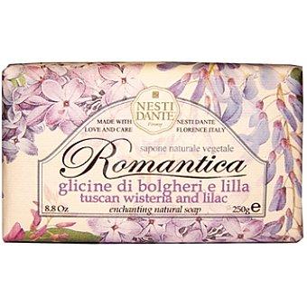Nesti dante Pastilla de jabón Romántica bolgheri e lilla Pastilla 250 g