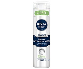 Nivea For Men Espuma de Afeitar Sensitive para hombre 250ml