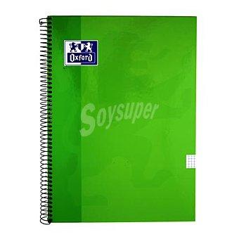 Oxford Cuaderno folio 80 hojas cuadricula tapa extradura l