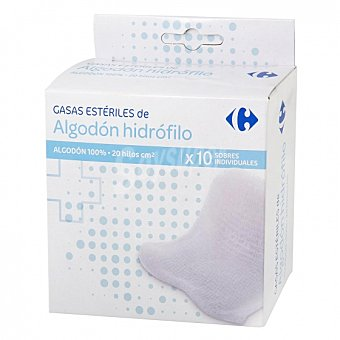 Carrefour Gasas estériles 10 ud 10 ud