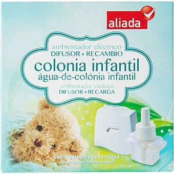 ALIADA Ambientador eléctrico colonia infantil aparato + recambio 2 unidades