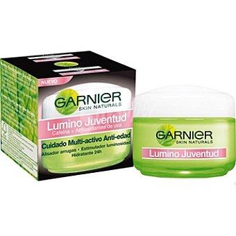 Skin Naturals Garnier Cuidado multi-activo anti-edad alisador arrugas + estimulador luminosidad tarro 50 ml hidratante 24 h piel normal-mixta Tarro 50 ml