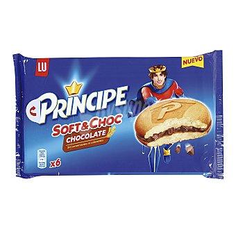 Príncipe Bizcocho con relleno de cacao y gotas de chocolate 180 gramos