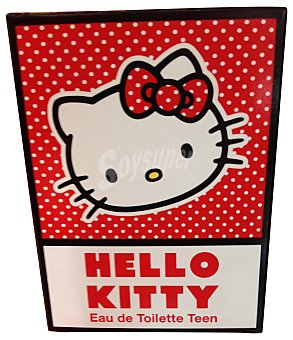 Hello Kitty Eau toilette infantil teen vaporizador Botella de 75 cc