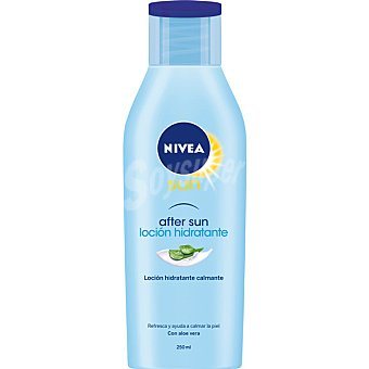 Nivea Sun After sun loción hidratante con aloe vera Frasco 200 ml