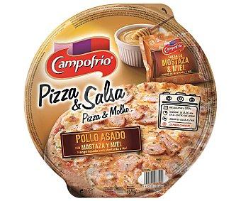 Campofrío Pizza de pollo asado con salsa de mostaza y miel 350 g