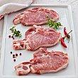 Chuletas de lomo de cerdo ibérico peso aproximado Bandeja 450 g Campovilla