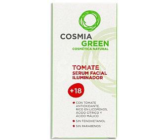 Cosmia Serum facial iluminador con extracto de tomate para mayores de 18 años 30 mililitros