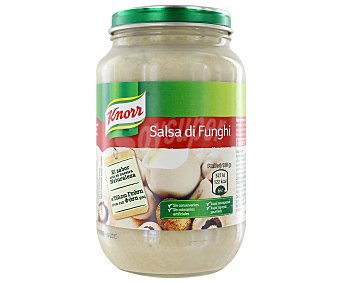 Knorr Salsa pasta de setas silvestres Frasco 250 g