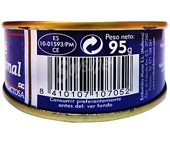 Munar Paté de hígado de cerdo 95 gramos
