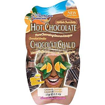MONTAGNE JEUNESSE Mascarilla facial sauna de chocolate con naranja abre los poros y elimina impurezas Envase 15 g