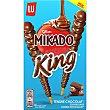 King palitos de galleta recubiertos de chocolate Paquete 51 g Mikado