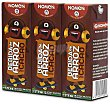 Bebida de arroz con cacao Pack 3 brik x 200 ml Nomen