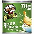 Aperitivo de patata sabor crema agria y cebolla Pringles 70 g Pringles