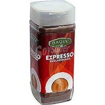 Baqué Café soluble descafeinado Frasco 200 g