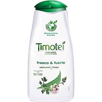 Timotei Champú de hierbas fresco & fuerte para cabello normal Frasco 250 ml