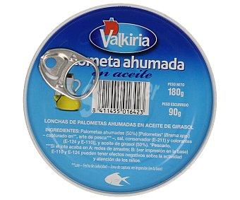 Valkiria Palometa ahumada en aceite 180 gramos