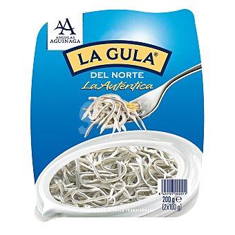 Angulas Aguinaga La Gula del Norte Fresca 2x100g