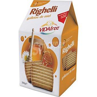 VIDAFREE Galletas de miel sin gluten Envase de 200 g