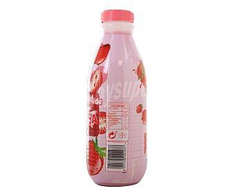 Auchan Batido de fresa Botella 1 litro