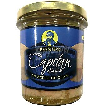 Hoya Bonito en aceite de oliva Capitan Santoña Frasco 260 g neto escurrido