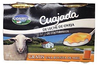 Goshua Cuajada oveja Pack de 2X293gr