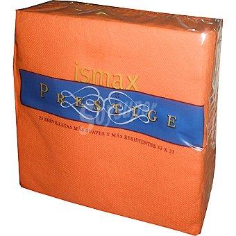 Ismax Servilletas Prestige 33x33 paquete 25 unidades Paquete 25 unidades