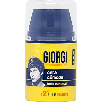 Giorgi Line Cera cómoda look natural Frasco 50 ml