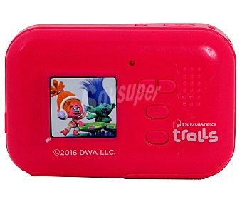 """Disney trols Cámara compacta 5 Megapixeles, Zoom digital 4x, pantalla LCD 1,5"""", incluye correa y cable USB"""