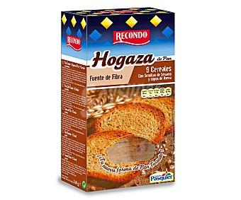 RECONDO Pan hogaza con cereales paquete 240 g
