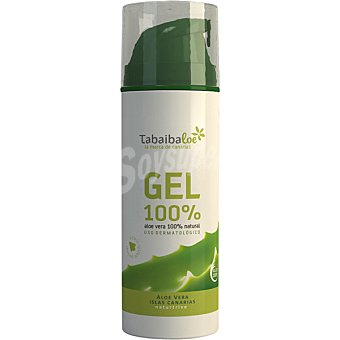 Tabaiba Crema gel aloe vera 100% natural frasco 150 ml