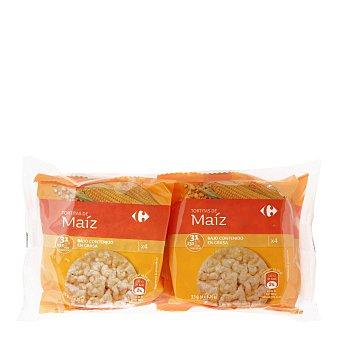Carrefour Tortitas de maíz Pack de 4 unidades de 33 g