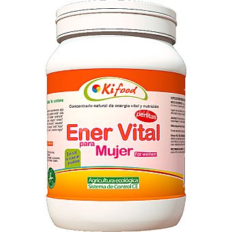 KIFOOD Concentrado natural de Ener Vital para mujer en perlas Envase 1 kg