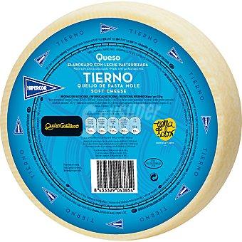 Hipercor Queso castellano tierno elaborado con leche pasteurizada peso aproximado pieza 3,3 kg