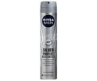 Nivea For Men Desodorante Silver Protect para hombre Spray 200 ml