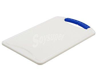 Curver Tabla de cortar con asa fabricada en plástico color blanco, 37 centímetros de largo 1 unidad