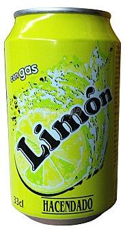 HACENDADO Limón con gas Lata de 33 cl
