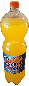 Hacendado Naranja con gas light Botella 2 l