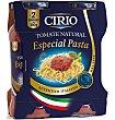 Salsa tomate natural especial pasta 2 UN Cirio