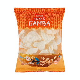 Hacendado Aperitivo snack de gamba Paquete 60 g