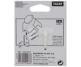 Tatay Soporte cromado universal para ducha 1 Unidad