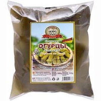TROIKA Tpouka Gold Pepinos fermentados Bochkovye Bolsa 650 g