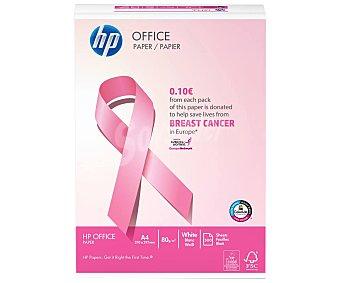 HP Paquete de 500 hojas de papel blanco de tamaño DIN A4, 80 gramos edición Cáncer de mama