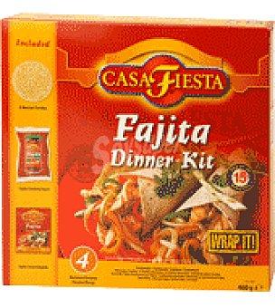Casa Fiesta Fajita Dinner Kit 1 ud