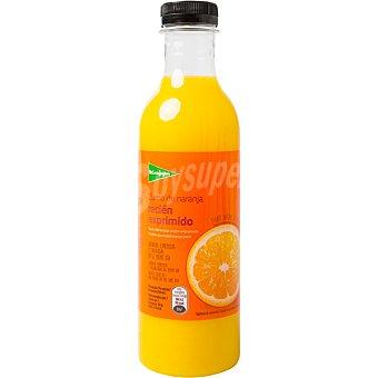 El Corte Inglés Zumo naranja recién exprimido botella 750 ml 750 ml