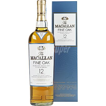 THE MACALLAN Fine Oak whisky escocés de malta 12 años  botella 70 cl