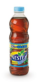 Nestea Refresco de té light con sabor limón Botella de 1,5 l