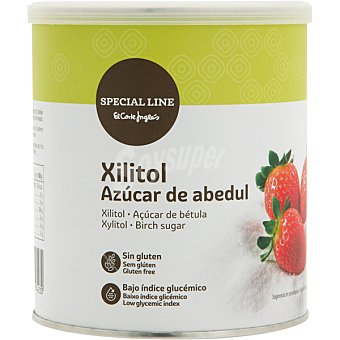 Special Line xilitol azúcar de abedul edulcorante light bote 500 g bote 500 g